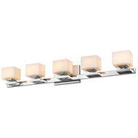 Z-Lite 1914-5V-CH Cuvier 5 Light 35 inch Chrome Vanity Wall Light in G9