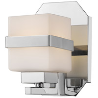 Ascend LED 5 inch Chrome Wall Sconce Wall Light in 1