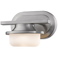 Optum LED 8 inch Brushed Nickel Wall Sconce Wall Light in 1