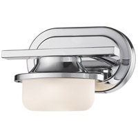 Optum LED 8 inch Bronze Wall Sconce Wall Light in 1, Chrome