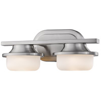 Z-Lite 1917-2V-BN-LED Optum LED 14 inch Brushed Nickel Vanity Wall Light in 2
