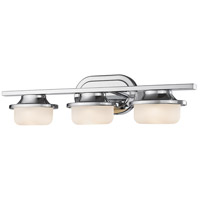 Z-Lite 1917-3V-CH-LED Optum LED 23 inch Chrome Vanity Wall Light