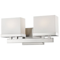 Z-Lite 1919-2V-BN-LED Rivulet LED 14 inch Brushed Nickel Vanity Wall Light in 2