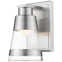 Ethos 1 Light 5 inch Brushed Nickel Wall Sconce Wall Light