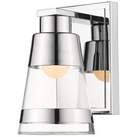 Z-Lite 1921-1S-CH-LED Ethos LED 5 inch Chrome Wall Sconce Wall Light