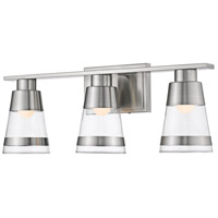 Ethos 3 Light 22 inch Brushed Nickel Vanity Wall Light