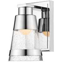 Z-Lite 1922-1S-CH-LED Ethos LED 5 inch Chrome Wall Sconce Wall Light