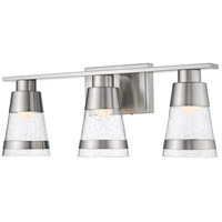 Z-Lite 1922-3V-BN-LED Ethos 3 Light 22 inch Brushed Nickel Vanity Wall Light