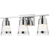 Ethos 3 Light 22 inch Chrome Vanity Wall Light