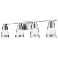 Ethos 4 Light 32 inch Brushed Nickel Vanity Wall Light