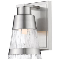 Z-Lite 1923-1S-BN-LED Ethos LED 5 inch Brushed Nickel Wall Sconce Wall Light