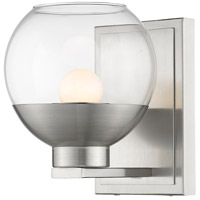 Osono 1 Light 6 inch Brushed Nickel Wall Sconce Wall Light