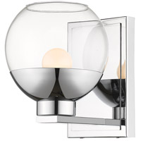 Osono 1 Light 6 inch Chrome Wall Sconce Wall Light