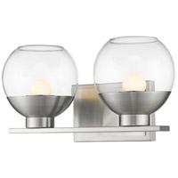 Z-Lite 1924-2V-BN-LED Osono 2 Light 14 inch Brushed Nickel Vanity Wall Light