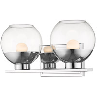 Z-Lite Chrome Osono Bathroom Vanity Lights