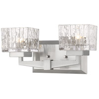 Brushed Nickel Rubicon Bathroom Vanity Lights