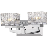 Z-Lite 1927-2V-CH-LED Rubicon LED 14 inch Chrome Vanity Wall Light