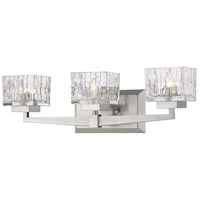 Z-Lite 1927-3V-BN Rubicon 3 Light 22 inch Brushed Nickel Vanity Wall Light