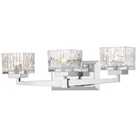 Z-Lite 1927-3V-CH Rubicon 3 Light 22 inch Chrome Vanity Wall Light