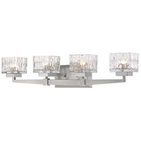 Z-Lite 1927-4V-BN Rubicon 4 Light 30 inch Brushed Nickel Vanity Wall Light