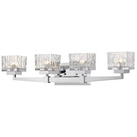Z-Lite 1927-4V-CH-LED Rubicon LED 30 inch Chrome Vanity Wall Light