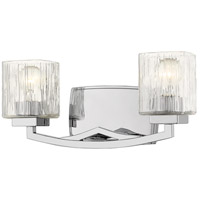 Z-Lite 1929-2V-CH Zaid 2 Light 16 inch Chrome Vanity Wall Light