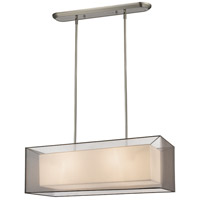Z-Lite Sedona 4 Light Island Light in Brushed Nickel 193-36BK-C