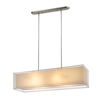 Z-Lite Sedona 4 Light Island Light in Brushed Nickel 193-45W-C