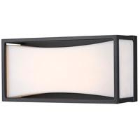 Z-Lite 1933-8MB-LED Baden LED 10 inch Matte Black Vanity Wall Light