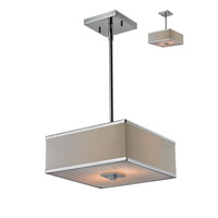 Z-Lite Rego 2 Light Pendant in Chrome 194-12