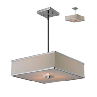 Z-Lite Rego 3 Light Pendant in Chrome 194-16