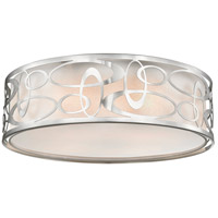 Opal 4 Light 20 inch Brushed Nickel Pendant Ceiling Light