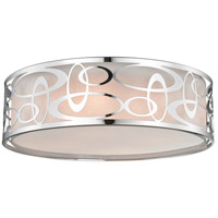 Z-Lite 195-20F-CH Opal 4 Light 20 inch Chrome Pendant Ceiling Light