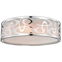 Z-Lite 195-20F-CH Opal 4 Light 20 inch Chrome Pendant Ceiling Light