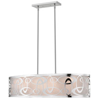Z-Lite 195-35CH Opal 4 Light 16 inch Chrome Pendant Ceiling Light