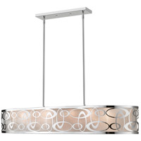 Opal 8 Light 20 inch Chrome Pendant Ceiling Light