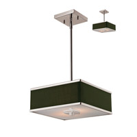 Z-Lite Rego 2 Light Pendant in Brushed Nickel 197-12