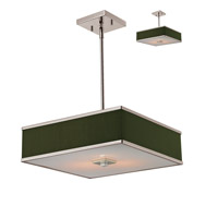 Z-Lite Rego 3 Light Pendant in Brushed Nickel 197-16