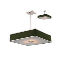 Z-Lite Rego 3 Light Pendant in Brushed Nickel 197-20