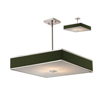 Z-Lite Rego 3 Light Pendant in Brushed Nickel 197-24