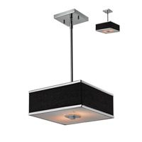 Z-Lite Rego 2 Light Pendant in Chrome 198-12