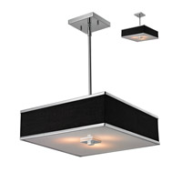 Z-Lite Rego 3 Light Pendant in Chrome 198-16