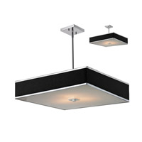 Z-Lite Rego 3 Light Pendant in Chrome 198-24