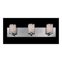 Z-Lite Synergy 3 Light Vanity in Chrome/Matte Opal 199-3V