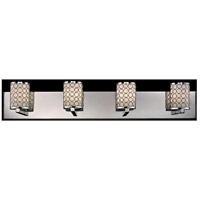 Z-Lite Synergy 4 Light Vanity in Chrome/Matte Opal 199-4V