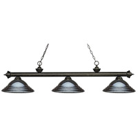Gun Metal Steel Island Lights
