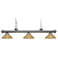 Z-Lite Polished Brass Steel Island Lights