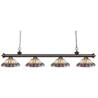 Z-Lite Riviera 4 Light Island Light in Olde Bronze 200-4OB-H14-4
