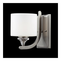 Z-Lite Avignon 1 Light Wall Sconce in Brushed Nickel 2000-1S