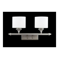 Z-Lite Avignon 2 Light Vanity in Brushed Nickel 2000-2V